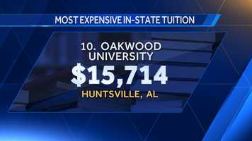 10. Oakwood University
