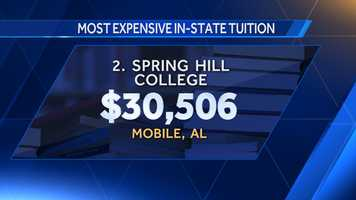 2. Spring Hill College