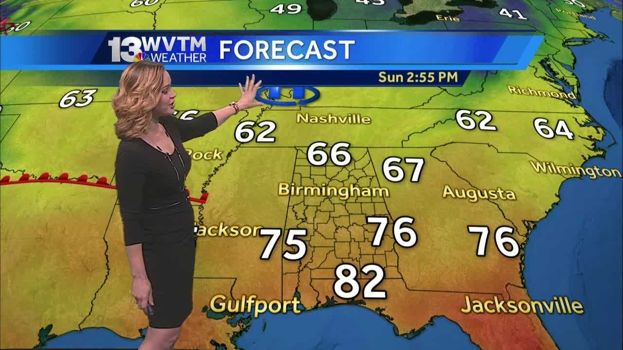 Meteorologist Harmony Mendoza has your Sunday forecast