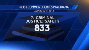 7. Criminal Justice: Safety Studies