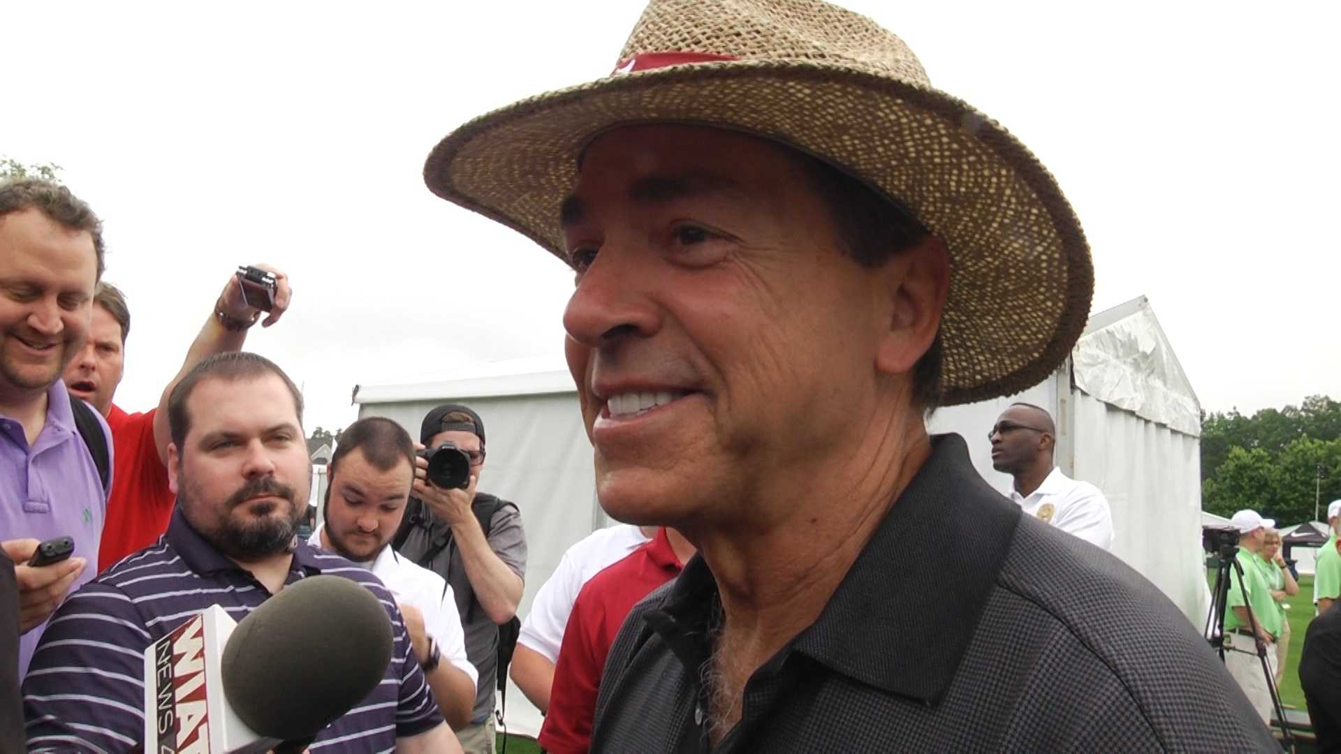 Nick Saban at Regons Tradition