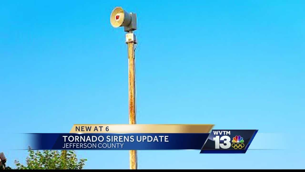 Jefferson County tornado sirens are coming down