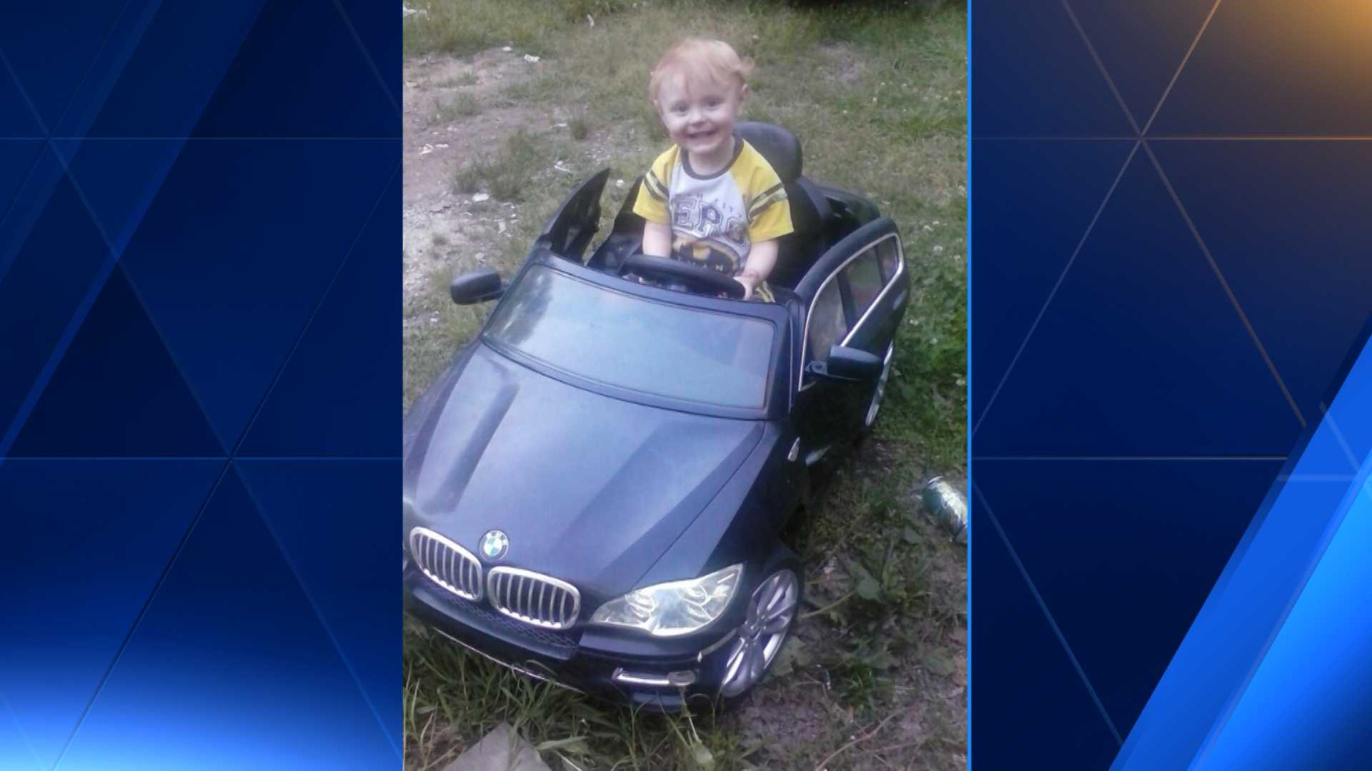 A Coosa County mom and dad are grieving after a family friend accidently ran over their young son, Damien.