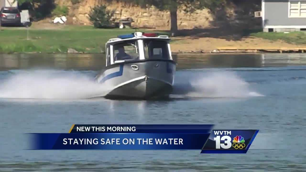 Tips on how to stay safe on the water