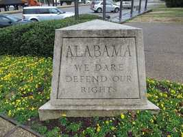 "The state motto, ""We dare defend our rights"" was adopted in 1939."
