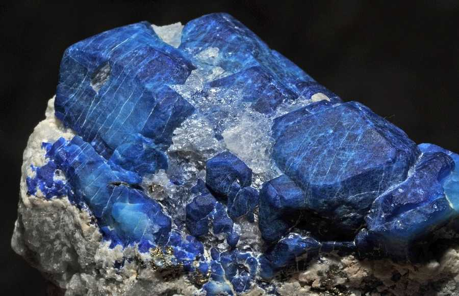 The star blue quartz was deemed the state gemstone in 1990.