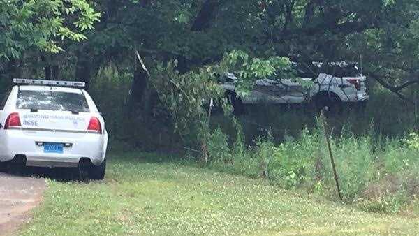 Stolen police cruiser found crashed in woods