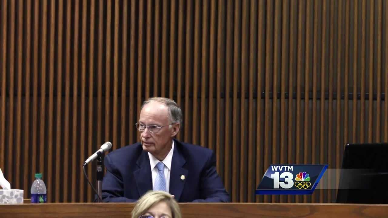 Governor Robert Bentley took the witness stand in the corruption trial of Mike Hubbard