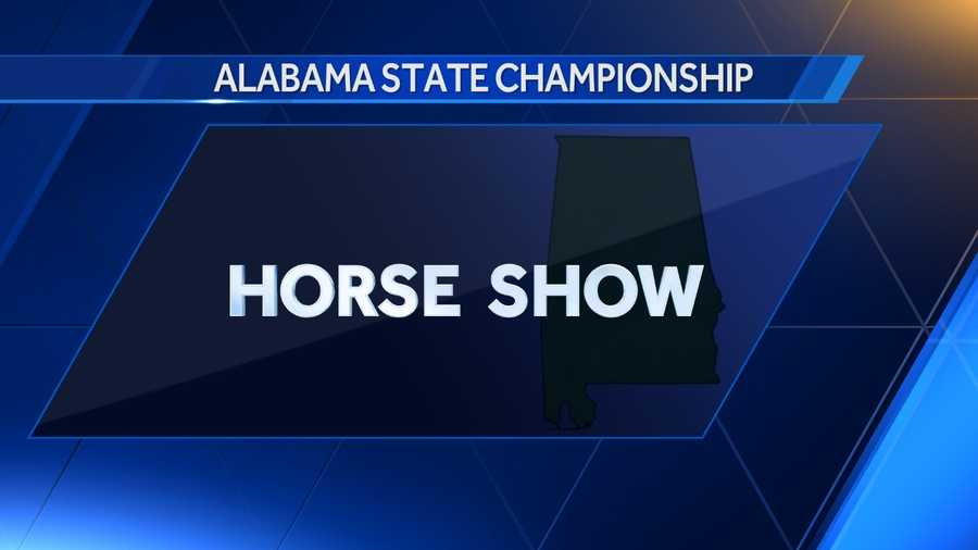 The horse show was deemed Alabama's state championship in 1988.