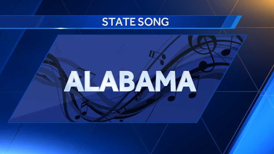 The state song, Alabama, was adopted in 1933.