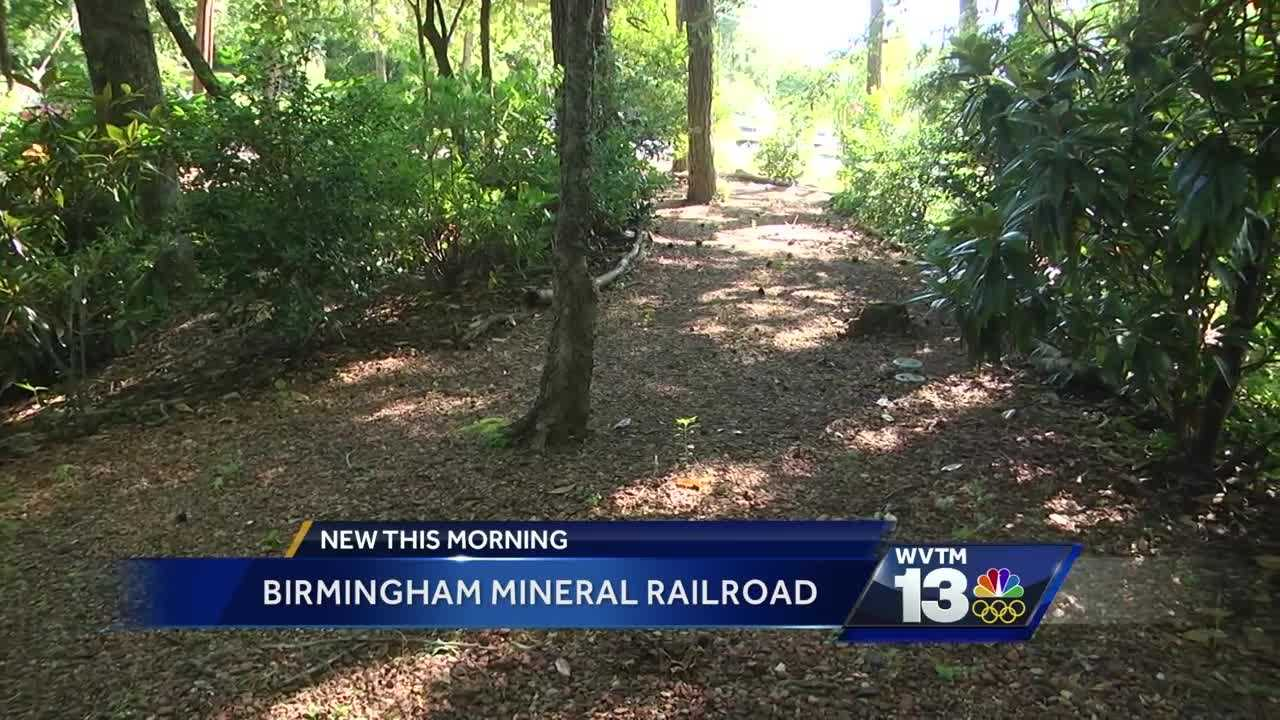 The historic Birmingham Mineral Railroad
