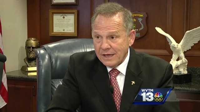 Alabama justice denies telling judges to block gay marriages