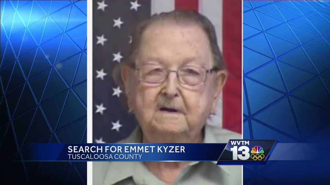 82 year old Emmet Kyzer hasn't been seen since Monday night