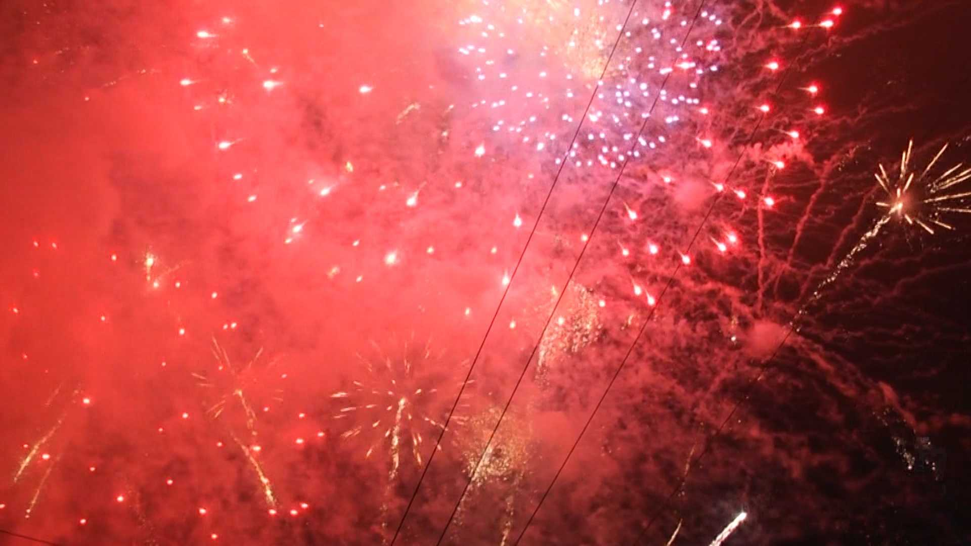 Experts are urging caution while they shoot off fireworks this weekend.