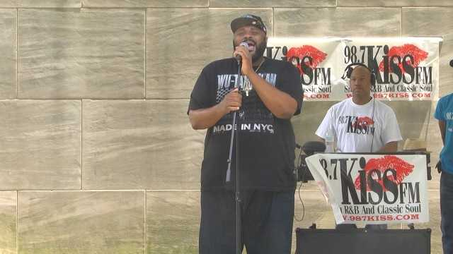 Ruben Studdard helping 'Silence the Violence' in Birmingham