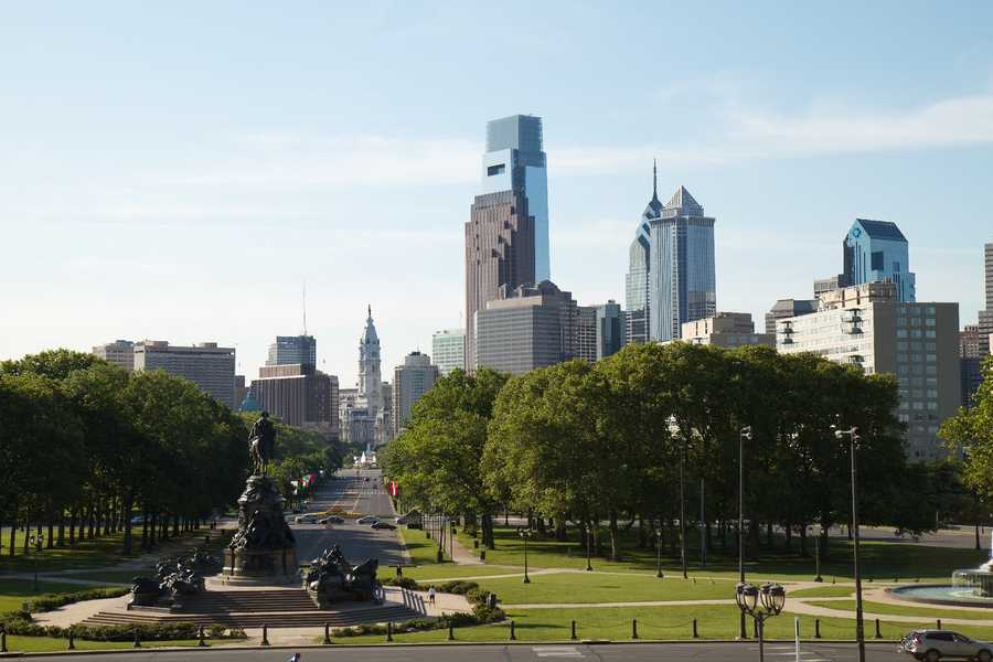 Philadelphia hosted the first RNC in 1856, six total. (1856, 1872, 1900, 1940, 1948, 2000)Rob Skenk - Philadelphia Skyline - Creative Commons Flickr