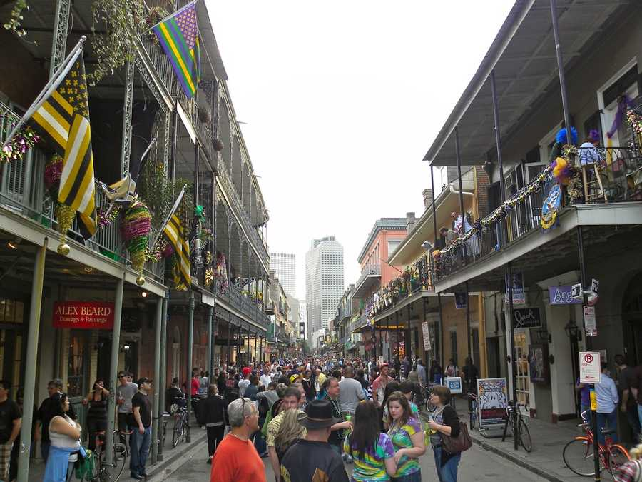New Orleans hosted it's first and only RNC in 1988.JasonParis - New Orleans, LA (French Quarter) - Creative Commons Flickr