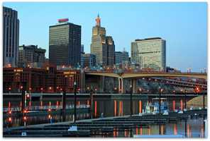 The 2008 Republican National Convention was held in St. Paul.Teresa Boardman - Docks - Creative Commons Flickr