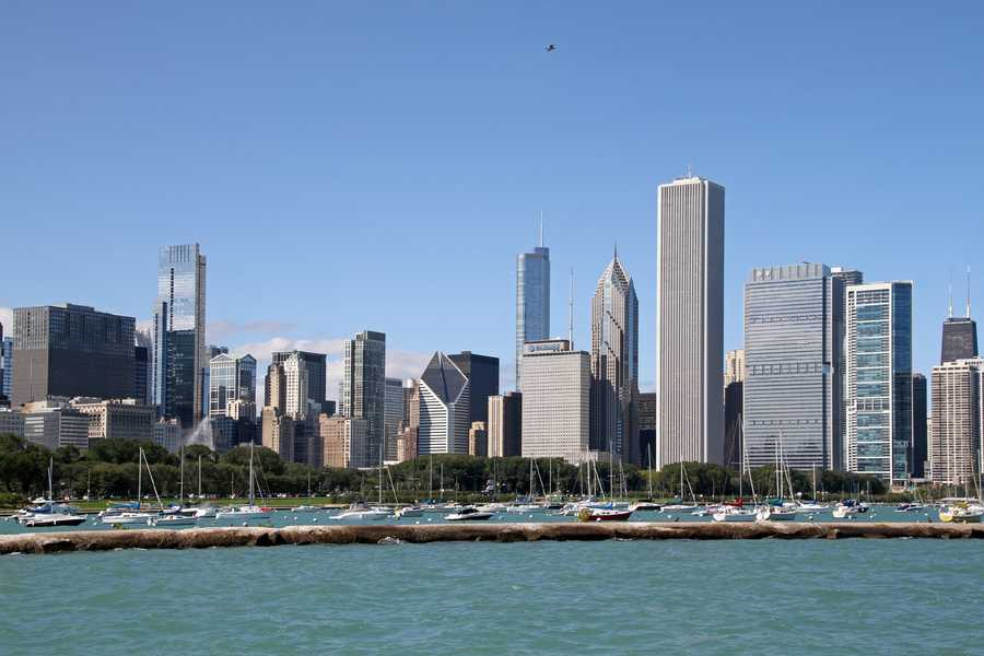 Chicago has hoested the Democratic National Convention 11 times, more than any other city. (1864, 1884, 1892, 1896, 1932, 1940, 1944, 1952, 1956, 1968, 1996)Tony Hisgett - Chicago Skyline - Creative Commons Flickr