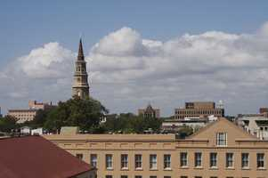 Charleston hosted the only deadlocked Democratic National Convention in 1860.James Williams - Charleston Skyline - Creative Commons Flickr