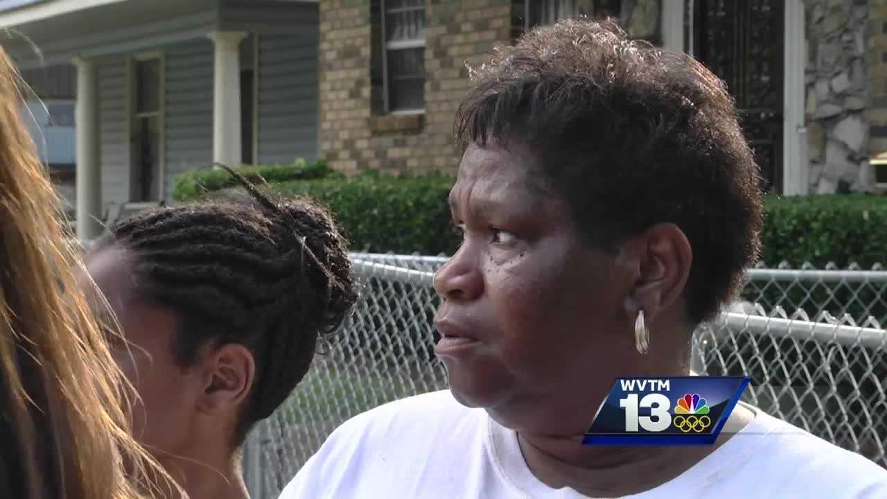 Gunfire erupts as WVTM 13 reporter interviews mom of murdered son