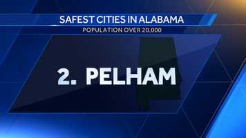 Population: 22,501Violent crime per 100,000: 88.9Property crime per 100,000: 1,835.5Crime score: 438