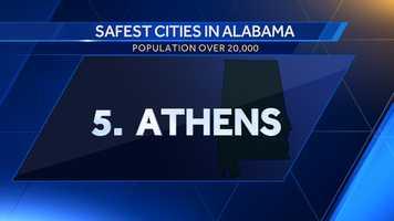 Population: 24,521Violent crime per 100,000: 24.5Property crime per 100,000: 3,062.7Crime score: 632