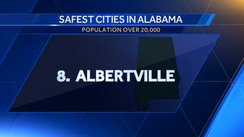 Population: 21,655Violent crime per 100,000: 106.2Property crime per 100,000: 3,491.1Crime score: 783