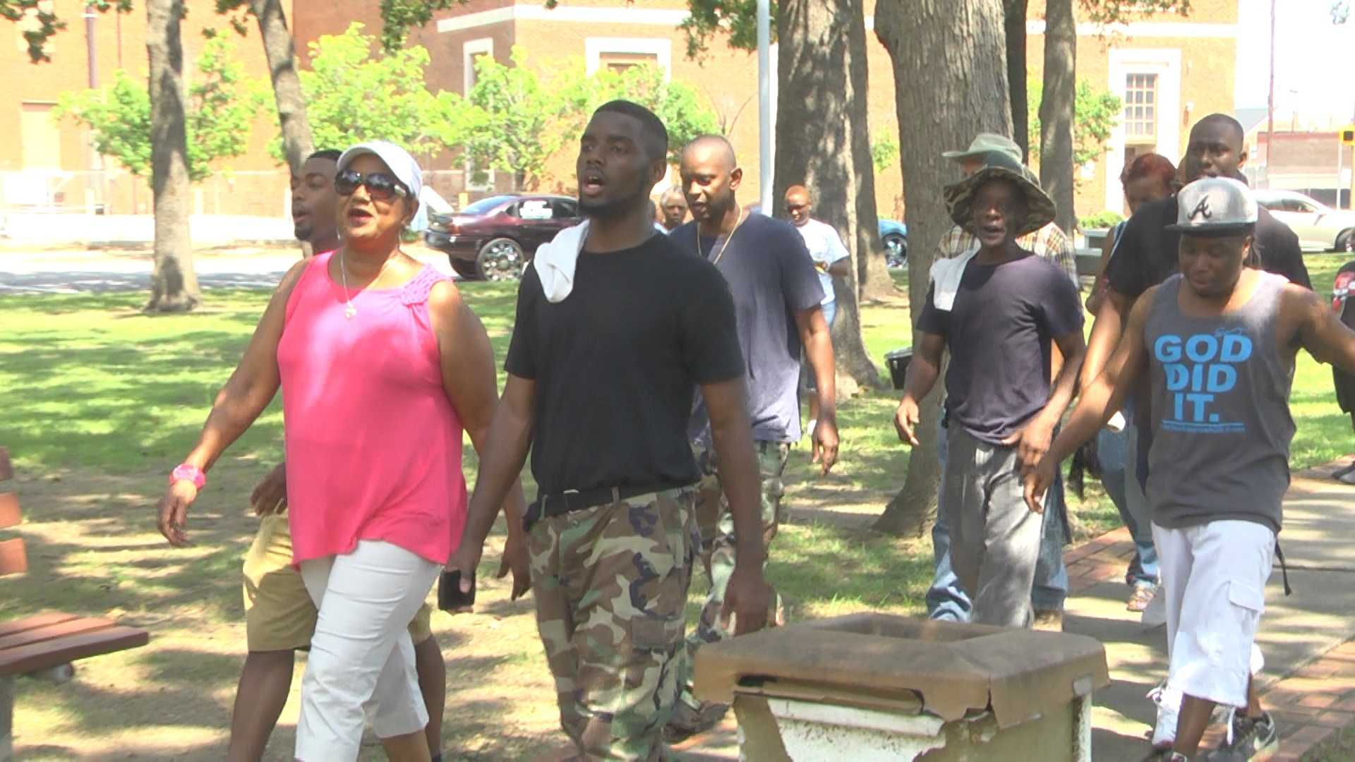 A march to stop the violence is underway in downtown Bessemer to discuss ways to deal with conflicts.