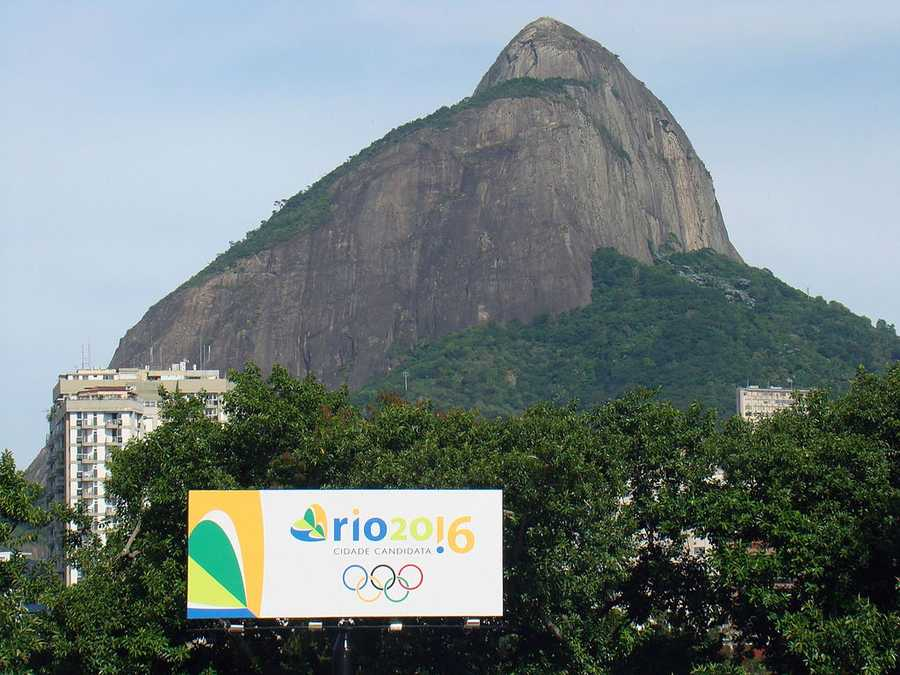 Brazil is set to host the 2016 Summer Olympic games for the first time.Morro dois Irmaos - Rodrigo Soldon - Creative Commons Wiki
