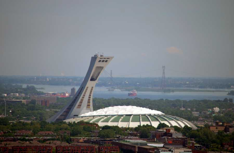 Known for being a great host for the Winter Olympics, Canada hosted the summer games in 1976. Montreal Olympic Stadium - Nic Redhead - Creative Commons Flickr