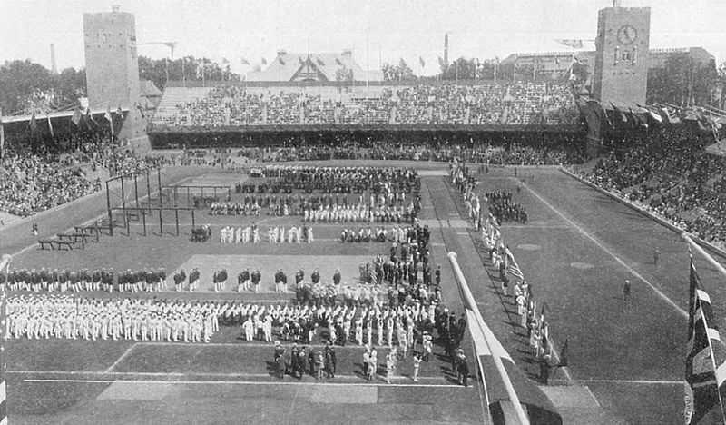 Sweden hosted their only Summer Olympic games in 1912.1912 Opening Ceremony - Erik Bergvall - Creative Commons Wiki