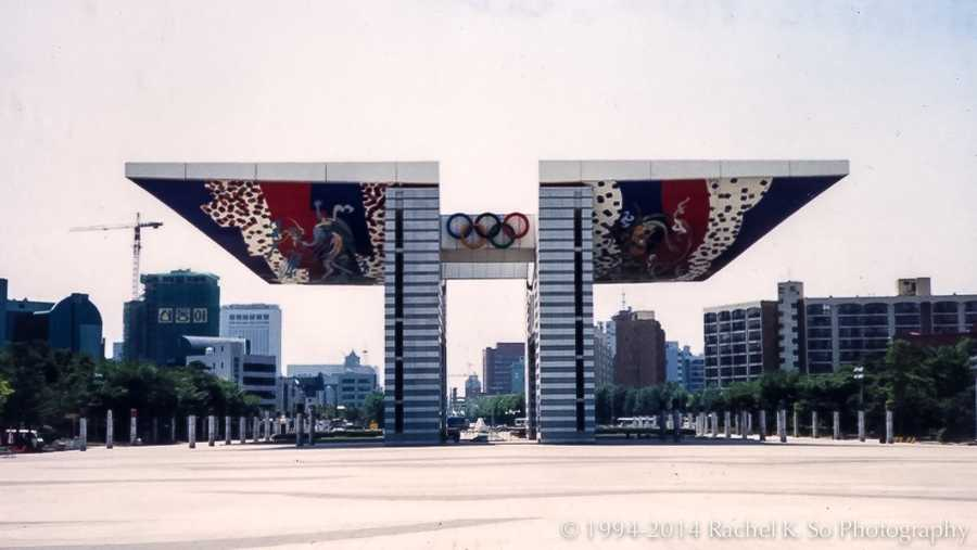 The 1988 Summer Olympics were held in South Korea for the first time.Olympic Park, Seoul - InSapphoWeTrust - Creative Commons Flickr