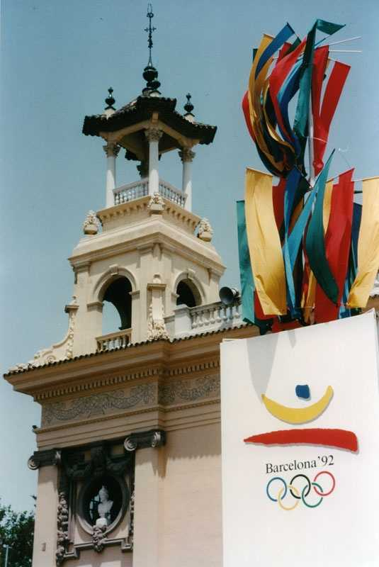 Spain hosted the Summer Olympics for the first and only time in 1992.Plaça d'Espanya, Barcelona - Ralf Roletschek - Creative Commons Wiki