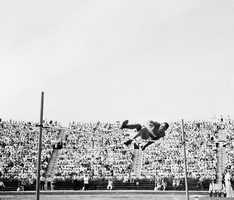 David Albritton, a Danville native, earned a silver medal in the high jump at the 1936 Olympic games in Berlin.