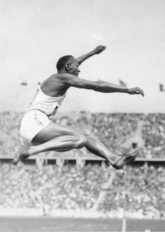Jesse Owens earned four gold medals in the 100m, 200m and 4x100m relay and long jump at the 1936 summer games in Berlin. Owens is a native of Oakville, Alabama.