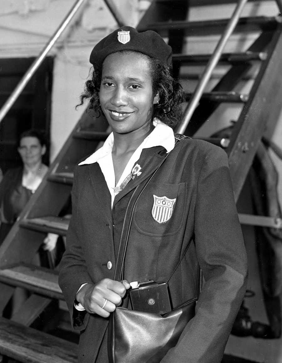 Alice Coachman, a Tuskegee Institute graduate, earned a gold medal in the high jump at the 1948 Summer Olympics in London.