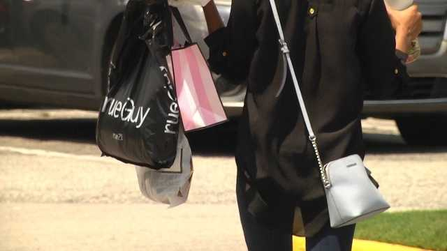 Back-to-school sales tax holiday packs shopping malls
