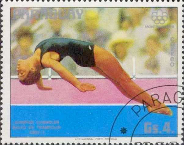 Jennifer Chandler, a Lincoln native, won gold in the three-meter spring board at the 1976 Olympic games in Montreal.Jennifer Chandler - Jennifer Chandler 1976 Paraguay stamp - Creative Commons Wiki