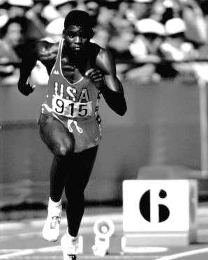 Frederick 'Carl' Lewis of Birmingham won a total of 10 medals in track and field during his Olympic career spanning over three summer games.Photograph of Carl Lewis, Olympic gold medal winner - KUHT - Creative Commons Wiki