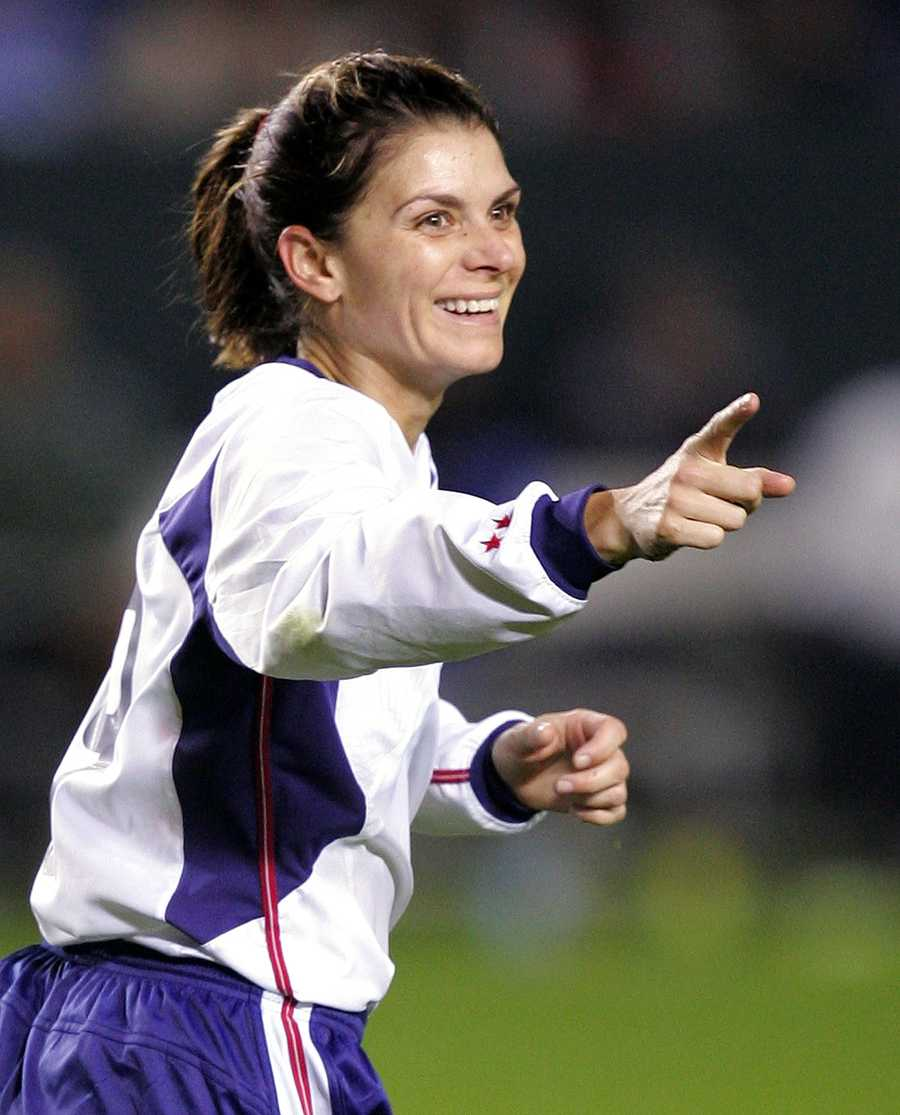 One of the most known faces in women's soccer, Mia Hamm, was born in Selma. Hamm led the U.S. to two gold and one silver medal during her Olympic run.AP Images