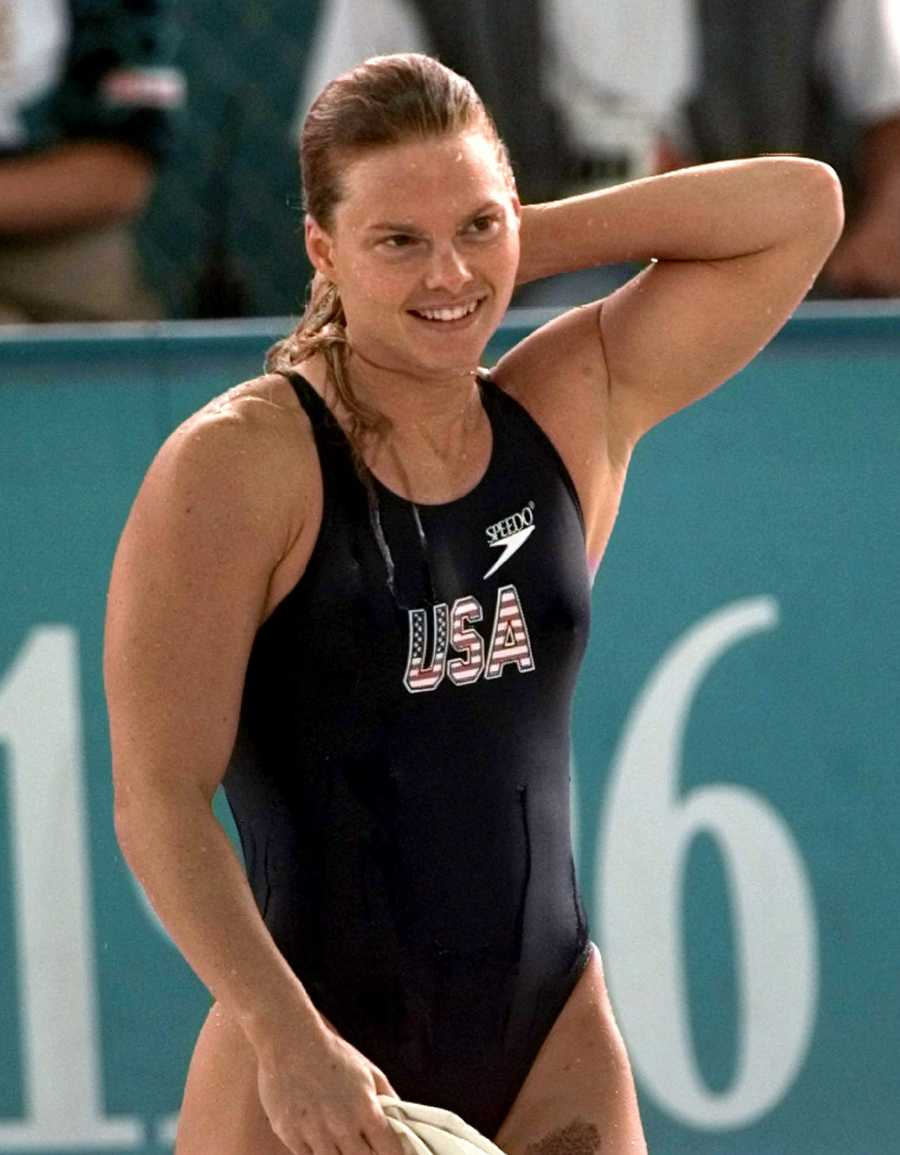 Angel Martino, a native of Tuscaloosa, won six medals in her Olympic career.AP Images