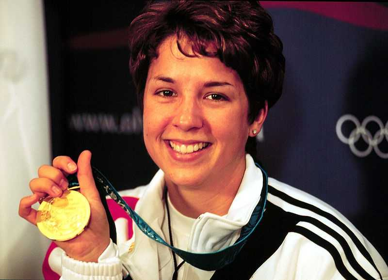 Sharp shooter Nancy Johnson of Selma took the gold medal in women's air rifle at the 2000 summer games.Nancy Johnson - Tech. Sgt. Robert A. Whitehead, U.S. Air Force - Creative Commons Wiki
