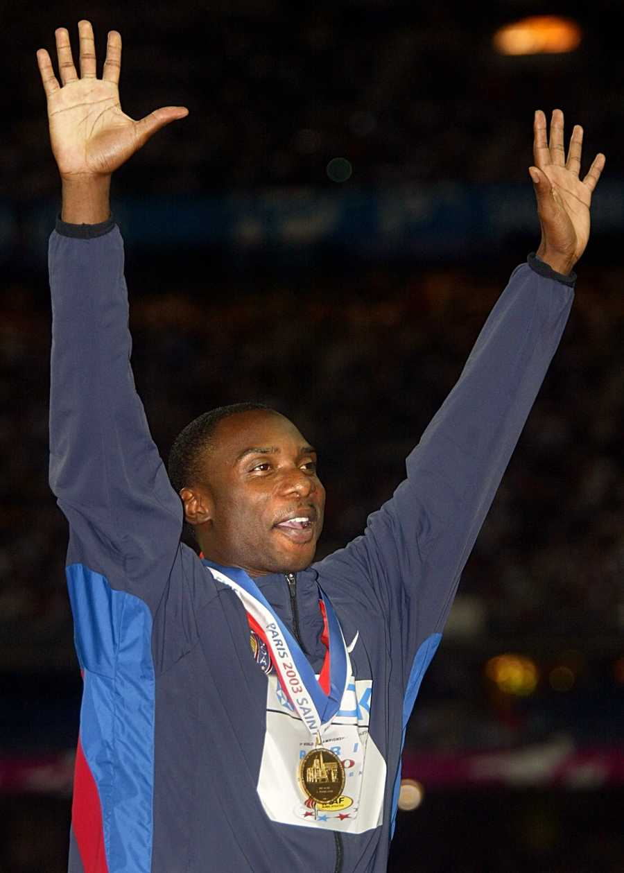 Jerome Young, a graduate of Wallace State Community College, was once a decorated Olympian with a gold medal and world record in the 4x400m relay. In 2004 Young was stripped of all of his medals due to doping.AP Images