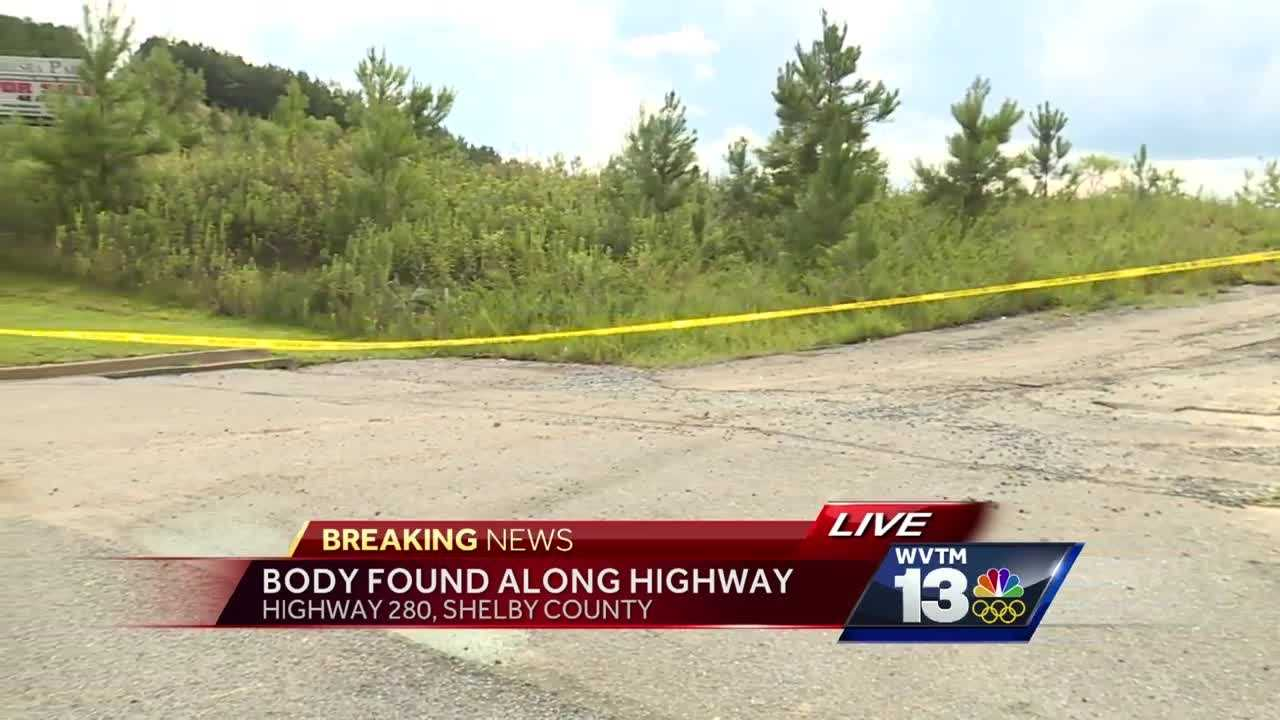 Authorities are investigating the death of a man whose body was found along Highway 280 Tuesday afternoon.