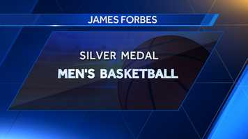 James Forbes, who was born in Fort Rucker, helped lead the men's basketball team to a silver medal in 1972.