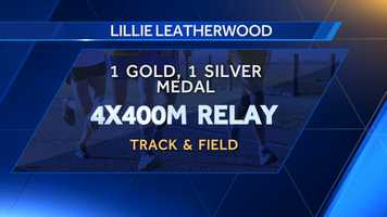Tuscaloosa native Lillie Leatherwood earned a gold medal in 1984 in the 4x400m relay and silver in 1988 in the same event.