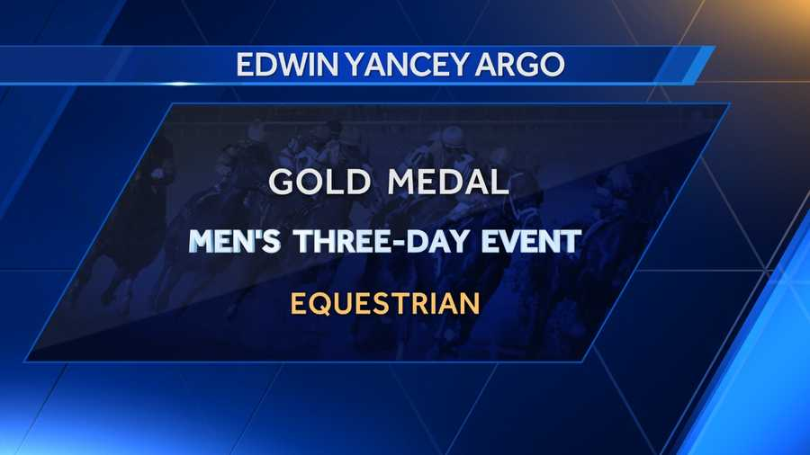 Edwin Yancey Argo, born in Hollins, won a gold medal at the 1932 Summer Olympics in Los Angeles for the three-day equestrian event.