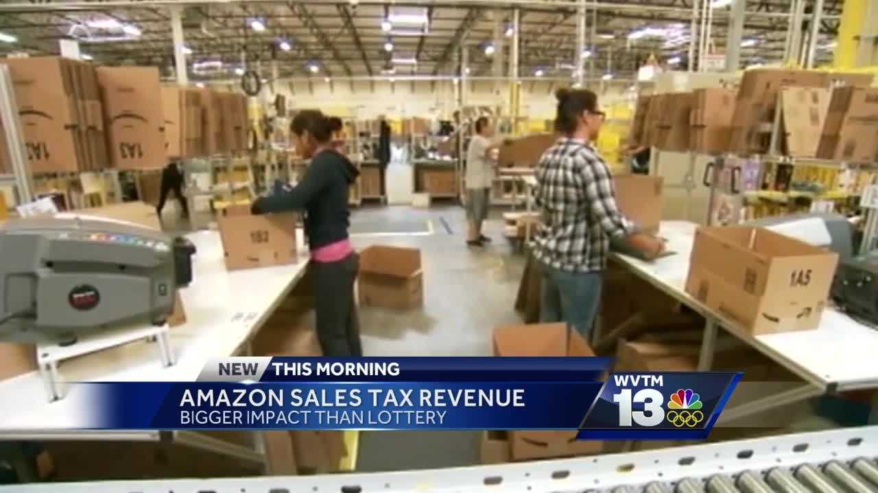 Amazon sales tax could have bigger impact than state lottery