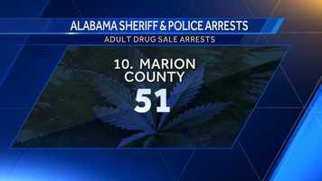 Opium/Cocaine: 1Marijuana: 4Synthetic drugs: 0Other: 46
